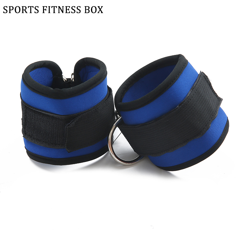 Unisex Ankle Straps Taekwondo Leg Strength Training Sports Protective Gear Weight Lifting High Quality Foot Ring Foot Buckle