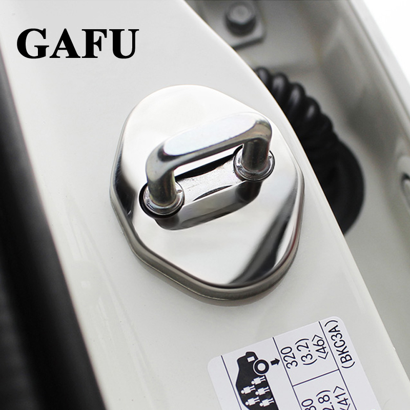 Car-Styling Door Lock Cover Case For <font><b>Mazda</b></font> CX-5 <font><b>CX5</b></font> 2017 2018 <font><b>2019</b></font> Car Covers Car Styling <font><b>Accessories</b></font> image