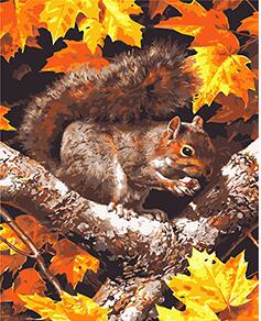 Autumn the years last loveliest smile quote by William Cullen Bryant Like some people some animals love autumn Red fox with a mouse in the beautiful