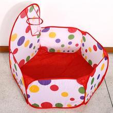 Новая детская игровая палатка для игры в морской бассейн с мячом, домик для детей, игровая хижина, бассейн с игровой корзиной, палатка