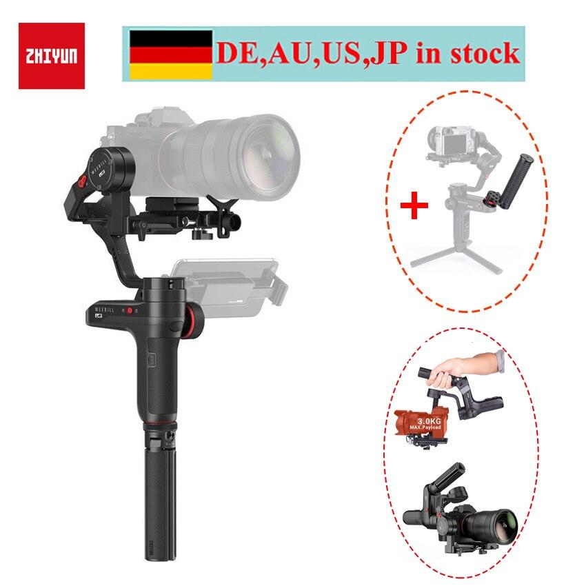 Zhiyun WEEBILL LAB 3-Axis Handheld Gimbal Stabilizzatore per Fotocamere Mirrorless, zhiyun Weebill per Sony a6500 A7M3 Panasonic Macchina Fotografica