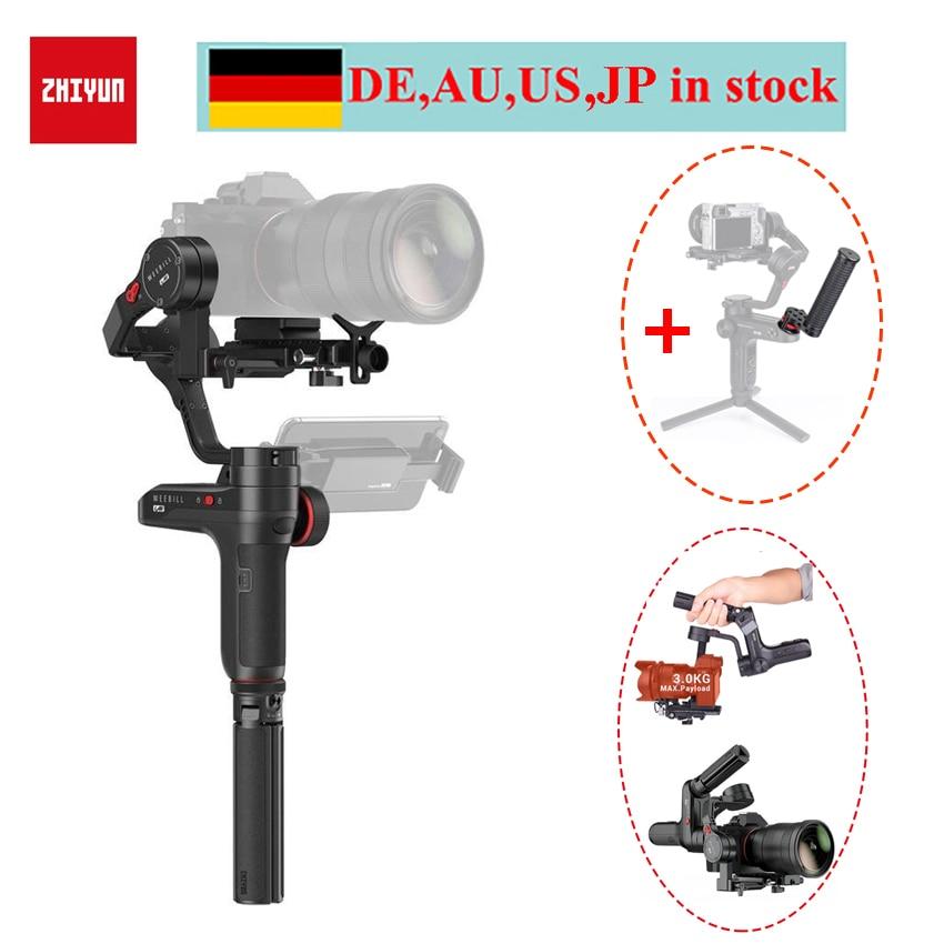 Zhiyun WEEBILL LABORATOIRE 3-Axes De Poche Cardan Stabilisateur pour Compacts, zhiyun Weebill pour Sony a6500 A7M3 Panasonic Caméra
