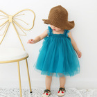 Summer dress for girls 1 Year baby girl clothes fluffy first birthday girl party dresses infant christening dress for baby girl