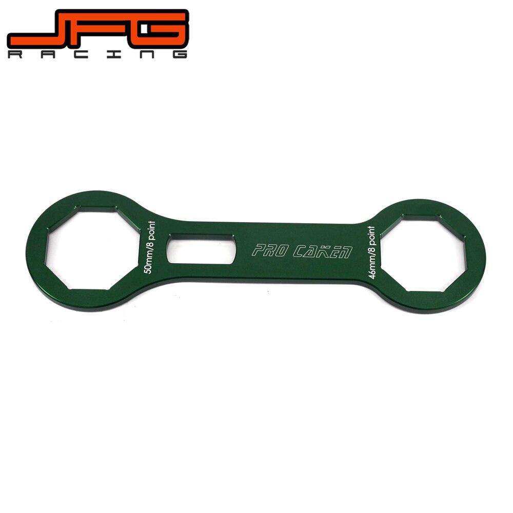 Motorcycle <font><b>Fork</b></font> Cap Wrench For KAWASAKI KX250F KXF250 2006-2016 KX450F KXF450 2015-2017 Pit Bike