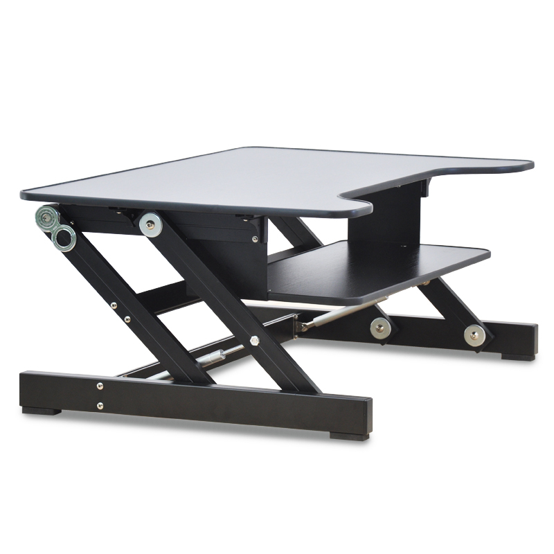 Easyup Height Adjule Sit Stand Desk Riser Foldable Laptop Keyboard Tray