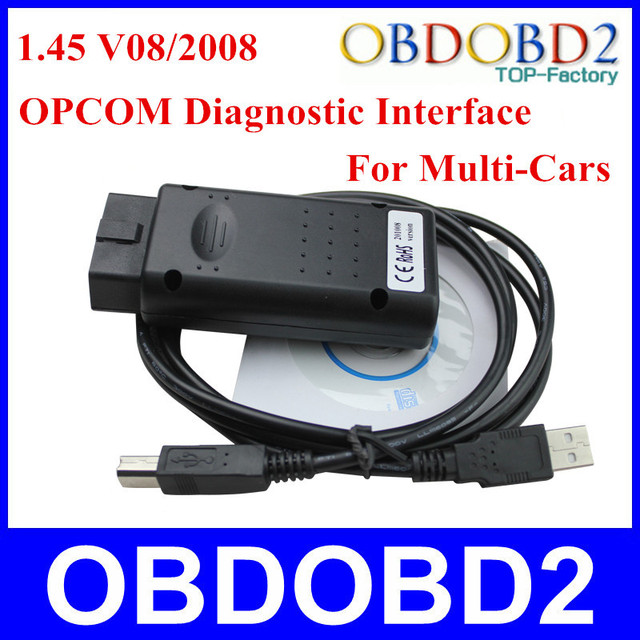 High Quality Stable Op com V1.45 For GM For Opel Series For Saab Opcom Code Reader SW Version 08/2010 Auto Diagnostic Interface