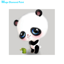 Cartoon Panda Diamond Painting animal Round Full Drill  Nouveaute DIY Mosaic Embroidery 5D Cross Stitch home decor gifts