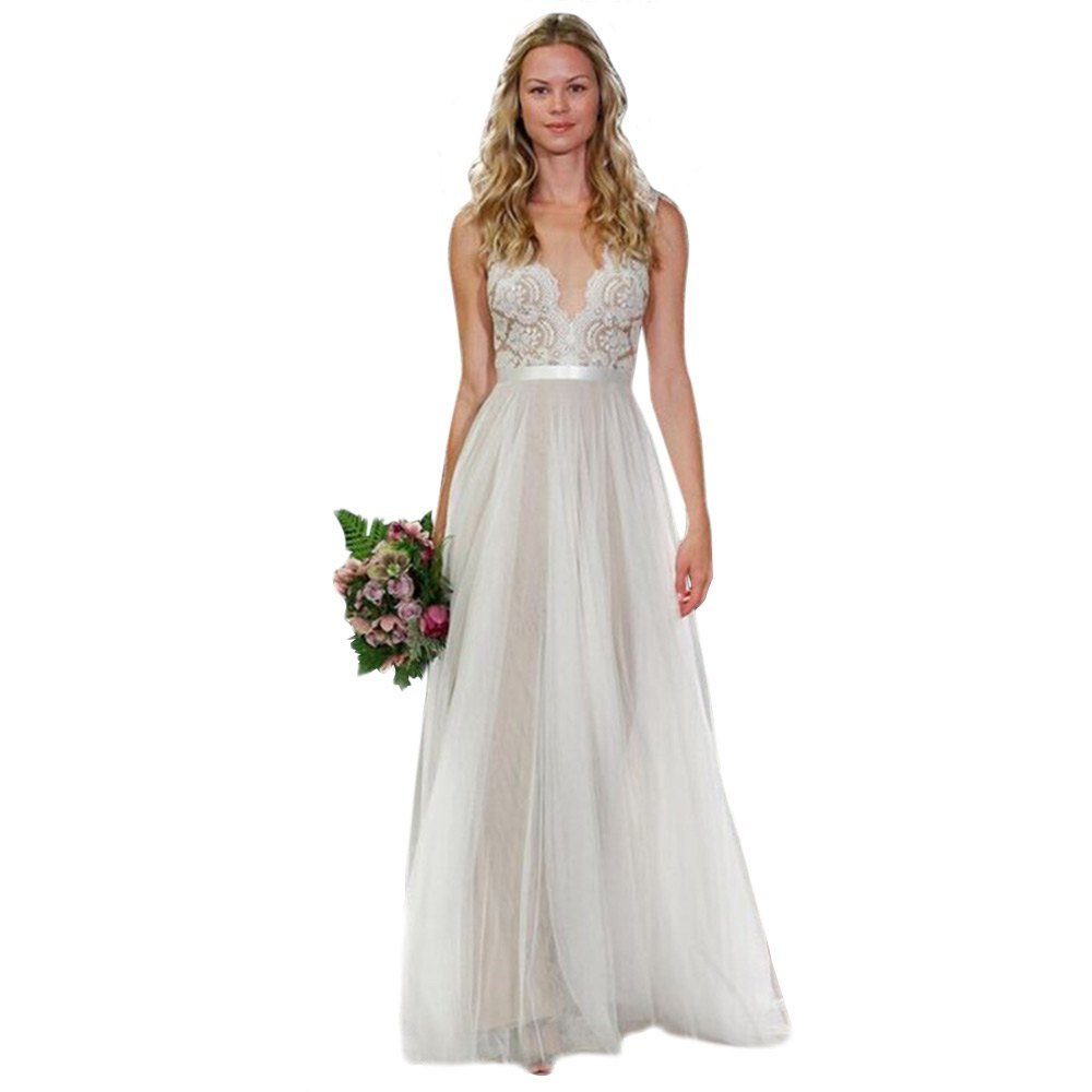 Online Get Cheap White Maxi Dress Wedding -Aliexpress.com ...