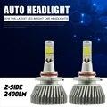 9005 HB3 LED Headlight Kit 9006 HB4 Faros de Niebla Luz Del Coche Del Vehículo del Bulbo de Haz 60 W