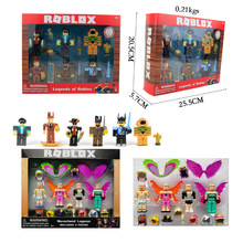 PVC Roblox Game Figma Oyuncak Action Figure Toys Figuras Boys Cartoon Collection Ornaments Toys Gift For Children Birthday Party(China)