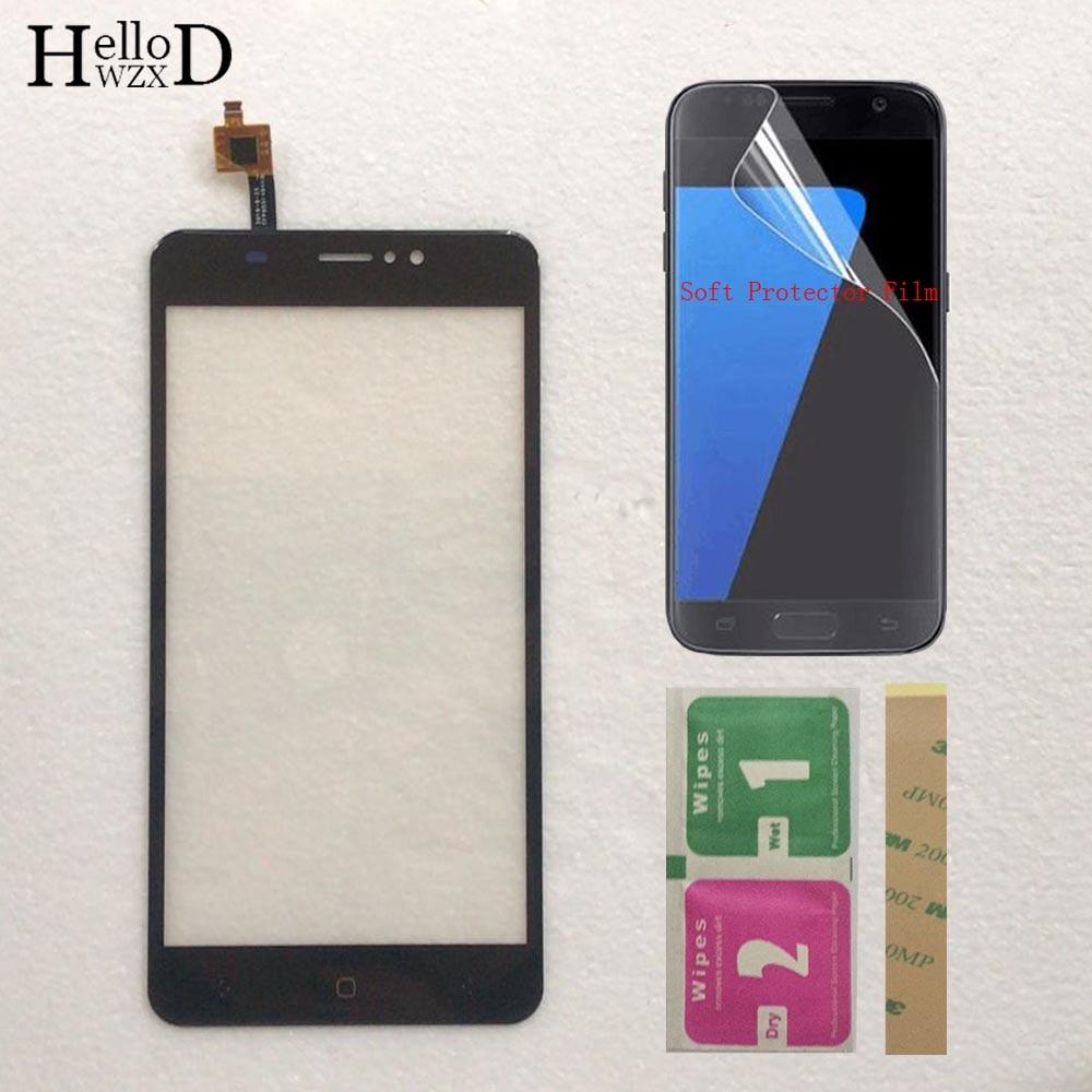 Mobile Touch Screen For BQ BQS 5525 Practic BQ 5525 Touch Screen Sensor Front Glass Touchscreen Digitizer Protector Film