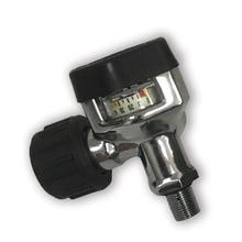 AC921 ضغط الهواء الألوان خزان/اسطوانة استخدام صمام أسود للصيد/CO2 الملحقات/خزان الملء Airgun مقياس AC921 Aceccare