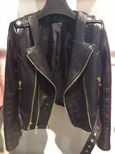 Reale delle donne giacca di pelle giacca di pelle delle signore del cuoio genuino giacca