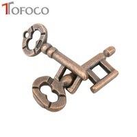 Classical Intelligent Lock Key Ring Puzzle