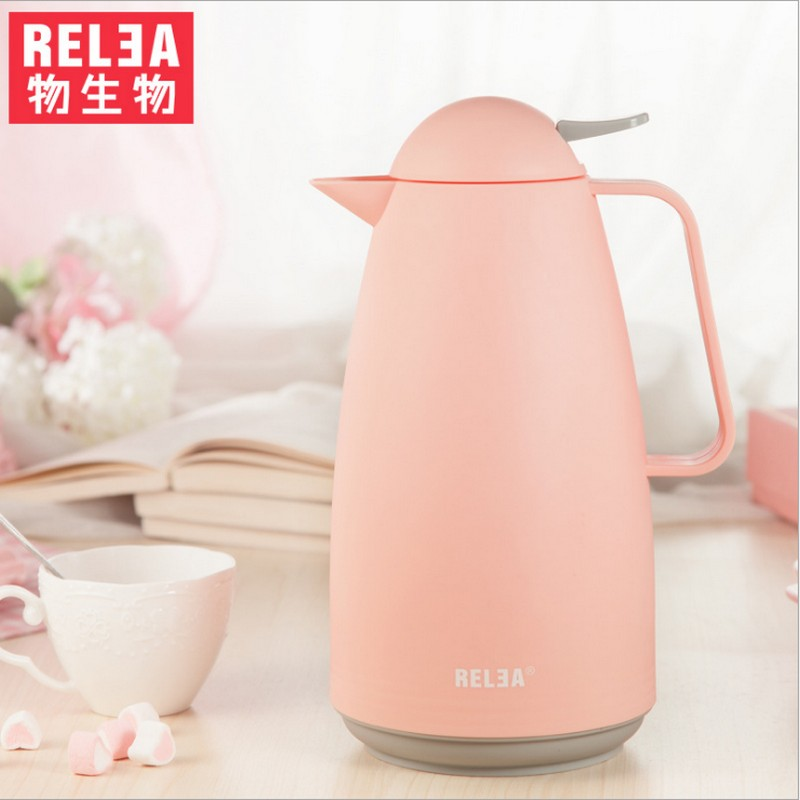 1000ML Thermos Kettle Insulation Thermo Coffee Mug Stainless Steel Thermal Vacuum flask Pot household vacuum Insulation kettle