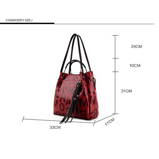 YILIAN Brand 2017 fashion split leather Women bag women's handbag Shoulder lady's messenger bag luxury Designer high capacity