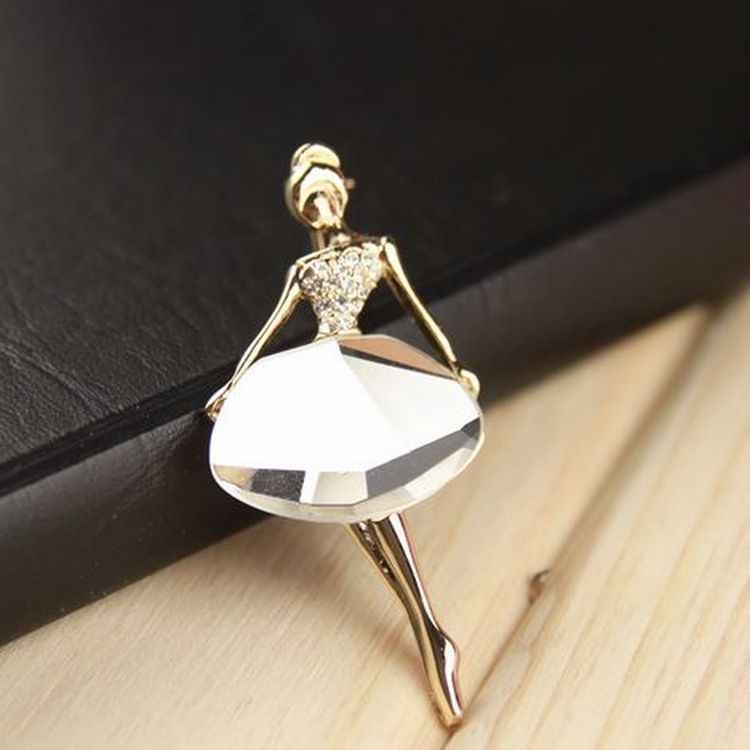 (1 cái) đồ trang sức Hàn Quốc bán buôn cô gái Múa Ba Lê Thời Trang khí trâm Broches Đồ Trang Sức Thời Trang