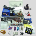 Complete Tattoo Kits for Beginner Body Tattoo Art 2 Tattoo Machine Guns Power Supply 7Colors Tattoo Inks 50 Needles