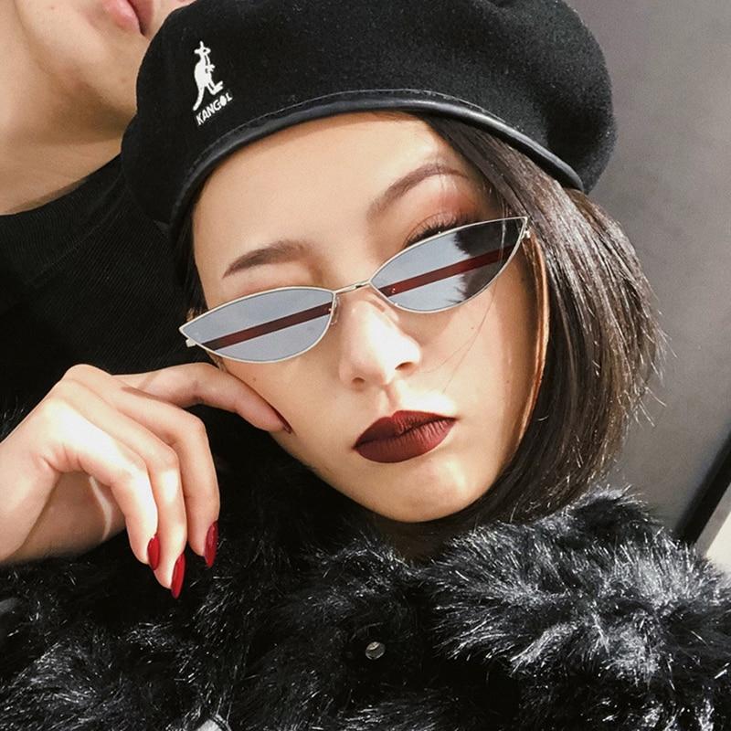 Female Goggles Oculos Sun-Glasses Colour Luxury Women Fashion Small UV400 Snail Gy Top-Elegant