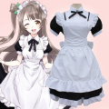 Japanese Anime Love Live Minami Kotori Cosplay Costume Women Wonder Zone Maid Dress New Free Shipping Free Size