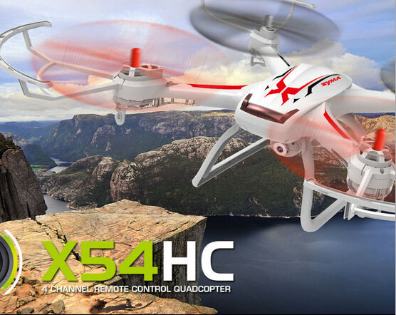 Big scale RC Drone With HD Camera New Arrival X54HC Quadcopter Remote Control 2MP HD Camera Barometer Set Height Drone RTF syma x54hc with 2mp 720p hd camera 2 4g 4ch 6axis altitude hold led rc quadcopter rtf barometer set height drone