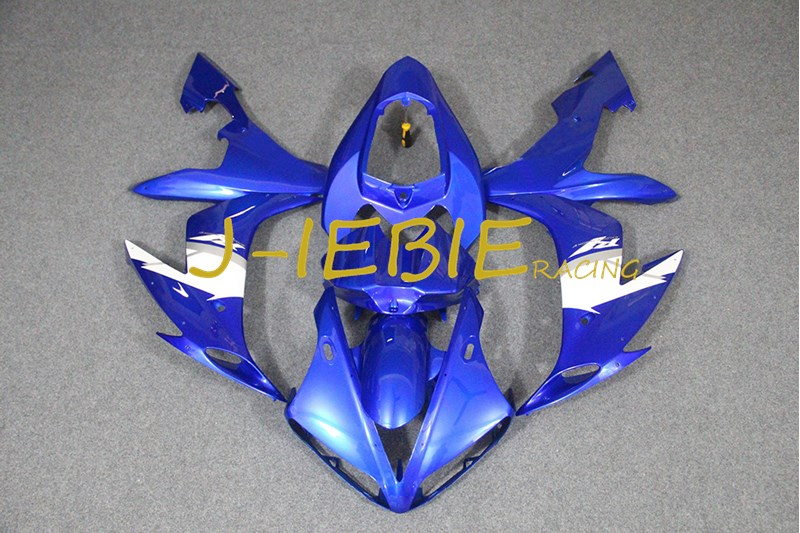 Blue Injection Fairing Body Work Frame Kit for Yamaha YZF 1000 R1 2004 2005 2006