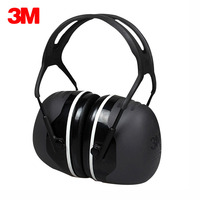 3M X5A Earmuffs Comfortable Sound Insulation Earmuffs Professional Anti noise Hearing Protector Noise Reduction Sleeping Earlap