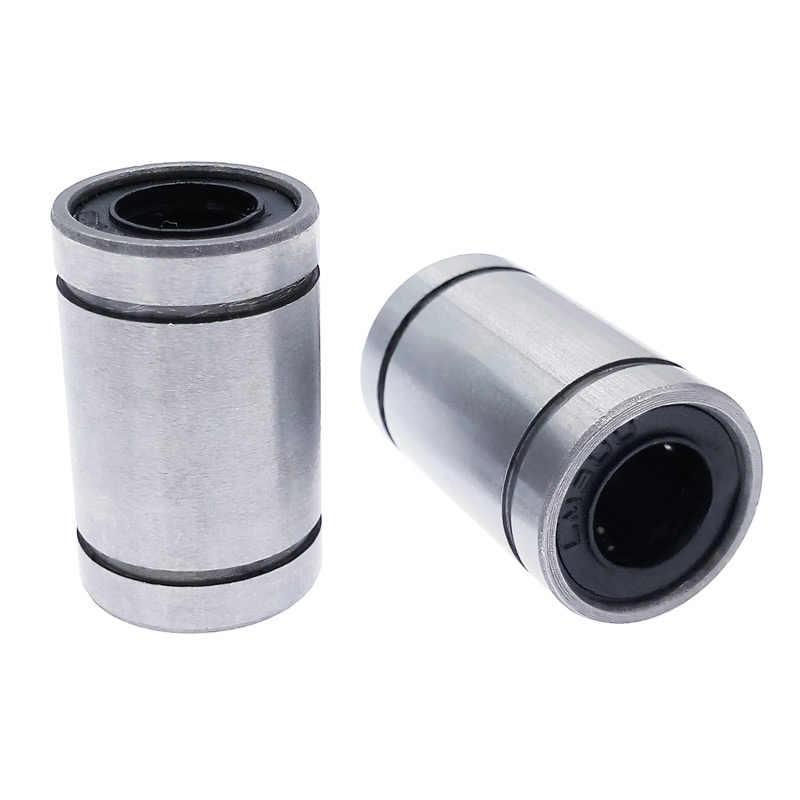 2 pcs LM8UU 8 milímetros linear bucha CNC rolamentos lineares 8*15*24mm 3D impressora peças de carbono aço