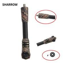 1set Bogenschießen Harmonische Carbon Stoßdämpfer Mit Gegengewicht Verwendet Für Verbindung Bogen Stabilisator Pol