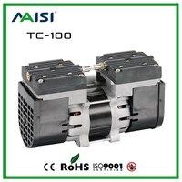 220 V (AC) 24L/MIN 100 W oil-free pompa a diaframma 3.6 bar vuoto Dello Spruzzo della pompa Dell'acqua Del Motore pompa a vuoto d'aria Medico attrezzature TC-100