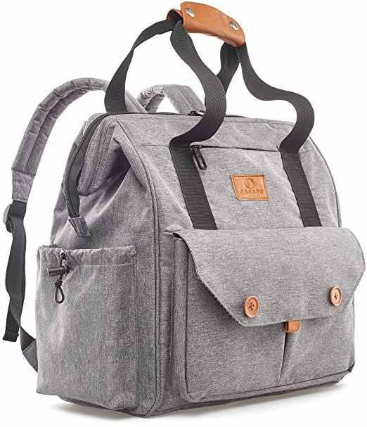 Baby Diaper Bag Nursing Tote For Stroller Large Capacity Maternity Travel Backpack Care