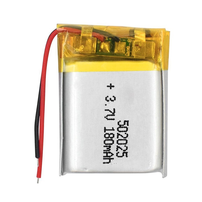 3.7V Lithium Polymer <font><b>Battery</b></font> 052025 180mAh MP3 MP4 MP5 <font><b>502025</b></font> Digital Electronic Products Lithium <font><b>Battery</b></font> Pack Rechargeable image