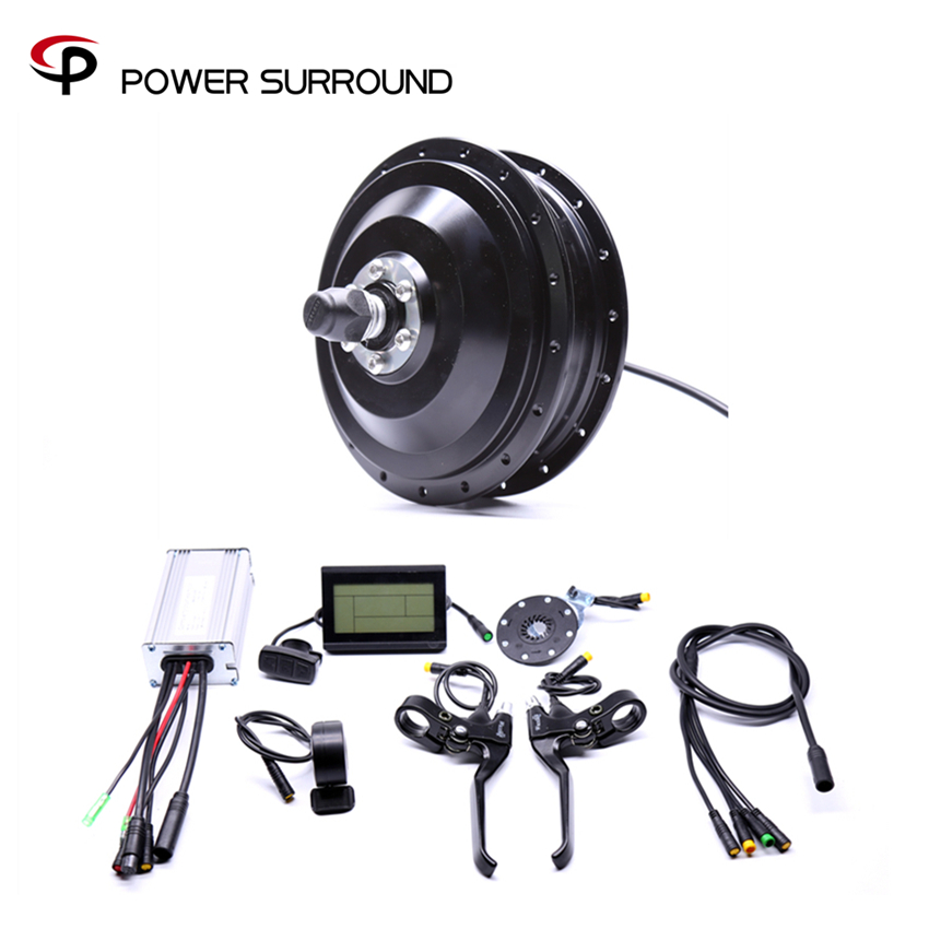 Eletrica 2018 Waterproof 48v500w Bafang Front/rear Electric Bike Conversion Kit Brushless Hub Motors Motor Wheel Ebike System waterproof electric 36v350w front rear bike conversion kit brushless hub motor wheel bicycle with ebike system