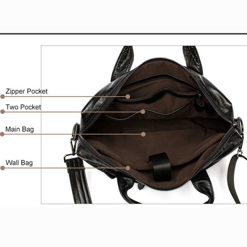 حقيبة كتف رجالي من الجلد الطبيعي MVA حقيبة كتف للرجال من الجلد المحمول/حقائب كروس بودي للرجال حقيبة يد للرجال 905