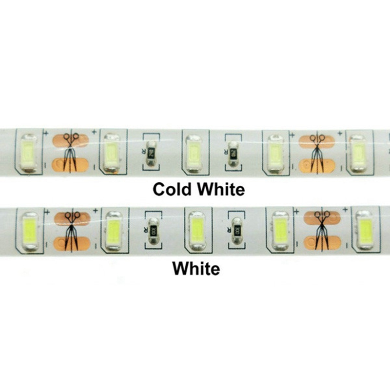 5M Flexible 300 LED Strip Light 12V DC Waterproof White/Warm White SMD 5730 Tape Light 72W