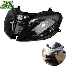 цена на For Kawasaki Ninja 00-03 ZX9R 00-02 ZX6R 00-08 ZZR600 Motorcycle Front Headlight Head Light Lamp Headlamp Assembly