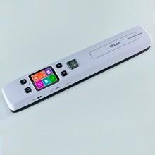 Szybki Przenośny Skaner Skaner Dokumentów A4 Rozmiar 1050 DPI JPG/PDF wsparcie 32G TF Karta Mini Skaner Pen z Pre Widok zdjęcie