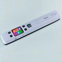 Tốc độ cao di Scanner A4 Kích Máy quét tài liệu 1050 DPI JPG/PDF hỗ trợ 32G TF Card Mini bút máy quét với Pre xem hình ảnh