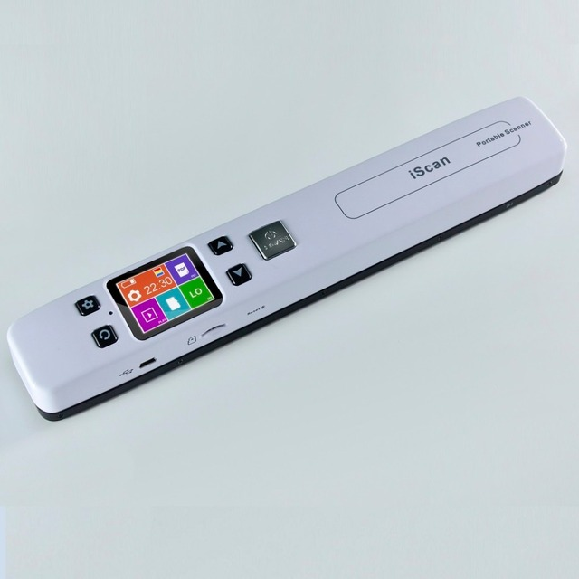 Tốc Độ cao A4 Máy Quét Tài Liệu Kích Thước Scanner 1050 DPI JPG/PDF hỗ trợ 32 Gam TF Thẻ Mini Pen Scanner với Pre Xem hình ảnh