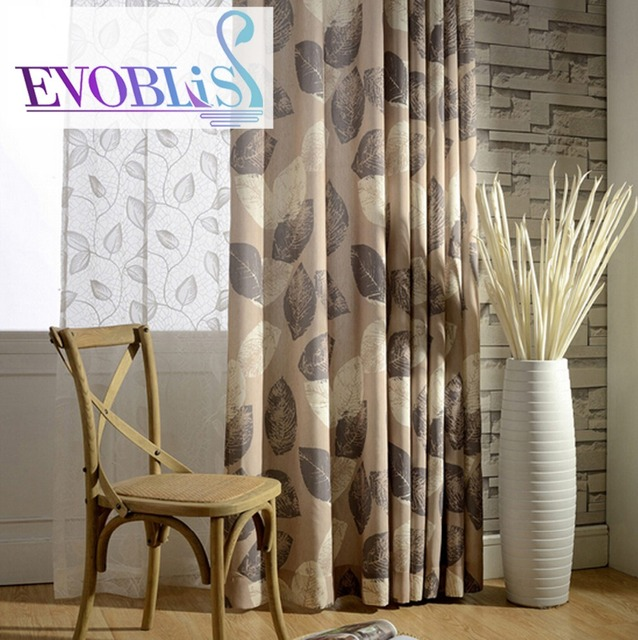 country style living room curtains. American country style modern curtains for living room bedroom  rideaux pour le salon cortinas