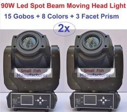 2xlot factory price 90w beam spot led moving head lights professional stage lighting 15 gobos strobe.jpg 250x250