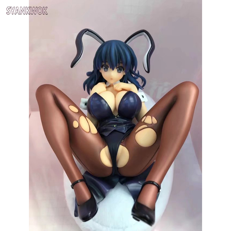 22cm New Anime Skytube Sexy Girl Bunny girl Action Figure PVC Collection Figures Toys Collection For Christmas gift brand new 1 6 scale sexy girl big breast bikini blonde 12 pvc sexy women action figure model toy for collection gift