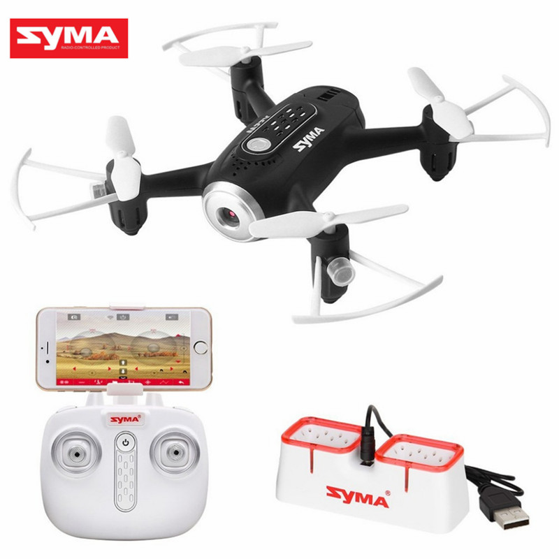 SYMA X22W WIFI FPV With 720P Camera APP Controller Altitude Hold Headless Mode RC Quadcopterr RTF FPV Racing Drone Helicopter jjrc h12wh wifi fpv with 2mp camera headless mode air press altitude hold rc quadcopter rtf 2 4ghz