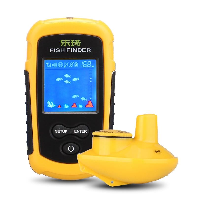 Leqi FFW1108-1 anglais sonar sans fil poisson trouveur pêche pour trouver des poissons criblage taille pêche - 5