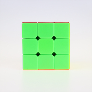 Cyclone Boys 3x3x3 Profissional Magic Cube Competition Speed Puzzle Cubes Toys For Children Kids cubo magico No Sticker Rainbow