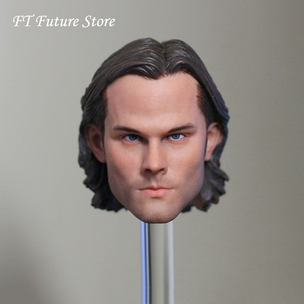1/6 Scale Male Head Sculpt Model Toys Supernatural Sam Winchester Jared Padalecki For 12 Action Figure Body Toys1/6 Scale Male Head Sculpt Model Toys Supernatural Sam Winchester Jared Padalecki For 12 Action Figure Body Toys