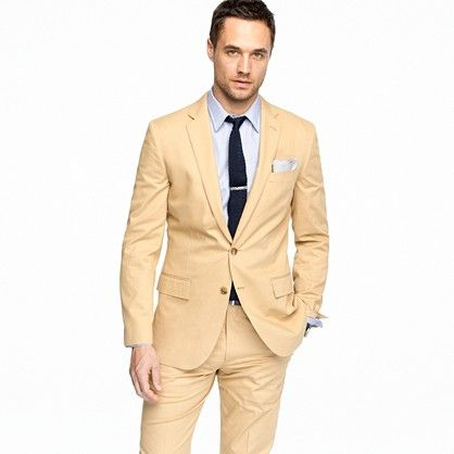 Latest Coat Pant Designs Tan Champagne Men Suit Formal Skinny Simple Prom Custom Modern Men Tuxedo 2 Piece Terno Masculino L60