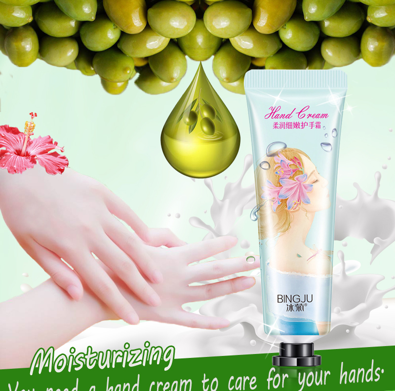 Buy 3 Get 2 Gift Soft and Delicate Moisturizing Hand Cream Anti-Aging Hand Skin Care Lotions Serum Repair Anti-chapping Cream