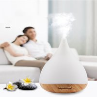Colorful aromatherapy machine humidifier Cross-border hot wood steaming device Humidifiers