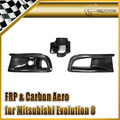 Car styling For Evolution 8 Varis Oil Clean Guide & Air Duct (3pcs)